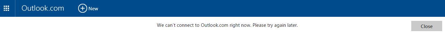 Outlook Fail